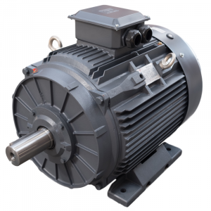 3KW TEC IE3 4 POLE CAST IRON B3 MOUNT AC MOTOR